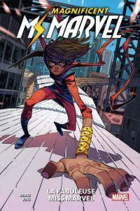 Magnificent Miss Marvel T1 : La fabuleuse Miss Marvel (0), comics chez Panini Comics de Ahmed, Jung, Herring, Petrovich