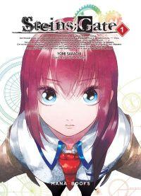 Steins;gate T1, manga chez Mana Books de Sarachi