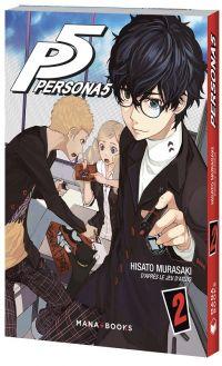 Persona 5 T2, manga chez Mana Books de Murasaki, Atlus