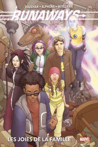 Runaways : Les joies de la famille (0), comics chez Panini Comics de Vaughan, Miyazawa, Alphona, Reber, Strain