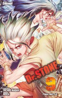 Dr Stone T9, manga chez Glénat de Inagaki, Boichi