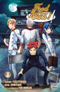 Food wars  T33, manga chez Delcourt Tonkam de Tsukuda, Saeki