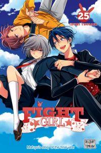 Fight girl T25, manga chez Glénat de Tsubaki
