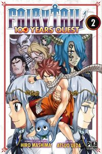 Fairy tail 100 years quest T4, manga chez Pika de Mashima, Ueda