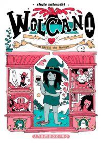 Wolcano, la Sorcière du cul, bd chez Delcourt de Zalewski
