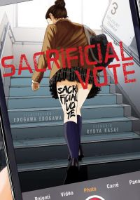 Sacrificial vote T3, manga chez Delcourt Tonkam de Kasai, Edogawa