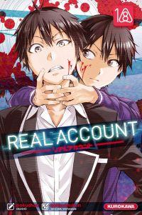 Real account T18, manga chez Kurokawa de Okushou, Shizumukun