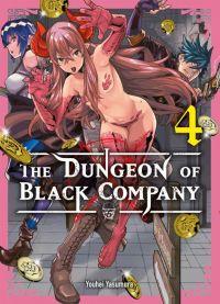 The dungeon of black company T4, manga chez Komikku éditions de Yasumura