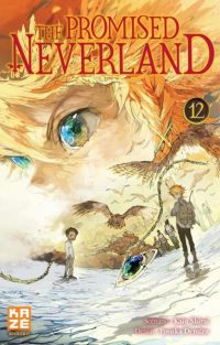 The promised neverland T12, manga chez Kazé manga de Shirai, Demizu