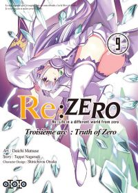 Re:Zero – 3e arc Truth of zero, T9, manga chez Ototo de Nagatsuki, Matsuse
