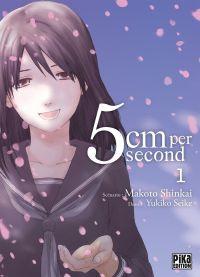 5cm per second  T1, manga chez Pika de Shinkai, Seike