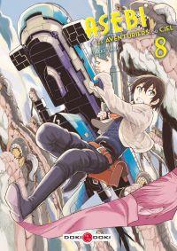 Asebi et les aventuriers du ciel  T8, manga chez Bamboo de Umeki