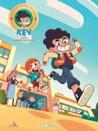 Le Monde selon Kev T2 : La frisée de l'école (0), bd chez Le Lombard de Pacheco, Minte