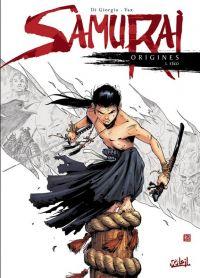 Samurai Origines T3 : Eïko (0), bd chez Soleil de Di Giorgio, Vax