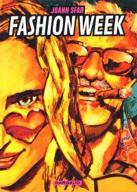 Fashion week, bd chez Dargaud de Sfar