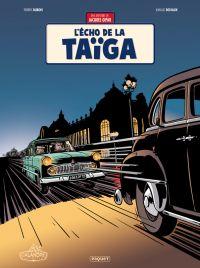 Une aventure de Jacques Gipar T8 : L'écho de la Taïga (0), bd chez Paquet de Dubois, Delvaux