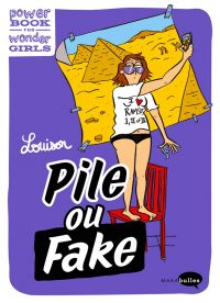 Pile ou fake, bd chez Marabout de Louison