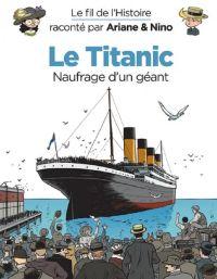 Le Fil de l'Histoire T15 : Le Titanic (0), bd chez Dupuis de Erre, Savoia