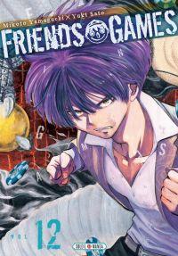 Friends games  T12, manga chez Soleil de Yamaguchi, Yûki