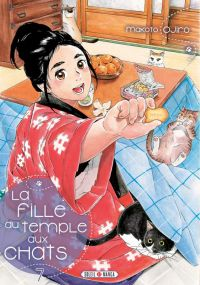 La fille du temple aux chats T7, manga chez Soleil de Ojiro