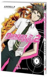 Danganronpa 2 T1, manga chez Mana Books de Chunsoft, Kuroki