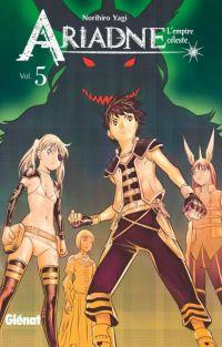 Ariadne l'empire céleste T5, manga chez Glénat de Yagi