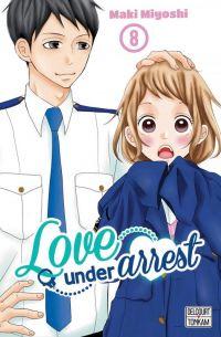 Love under arrest T8, manga chez Delcourt Tonkam de Miyoshi
