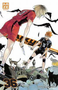 Haikyû, les as du volley T36, manga chez Kazé manga de Furudate