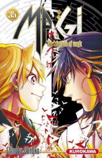 Magi, the labyrinth of magic  T35, manga chez Kurokawa de Ohtaka