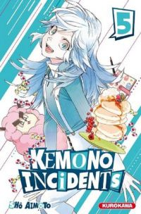 Kemono incidents T5, manga chez Kurokawa de Aimoto