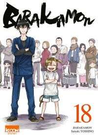 Barakamon T18, manga chez Ki-oon de Yoshino