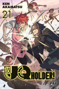 UQ Holder! T21, manga chez Pika de Akamatsu