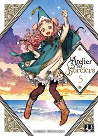 L'atelier des sorciers T5, manga chez Pika de Shirahama