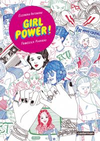 Girl power, bd chez Casterman de Ruggiero, Antonioni
