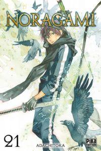 Noragami T21, manga chez Pika de Adachi