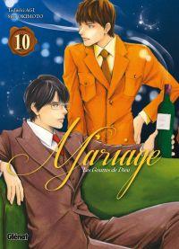 Les Gouttes de dieu - Mariage T10, manga chez Glénat de Agi, Okimoto
