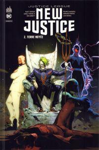 New Justice T2 : Terre noyée (0), comics chez Urban Comics de Snyder, Tynion IV, Abnett, Porter, Henry, Medina, Godlewski, Irving, Manapul, Redondo, Maiolo, Eltaeb, Hi-fi colour, Gho, Jimenez
