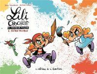 Lili Crochette et monsieur Mouche T6 : Double trouble (0), bd chez Editions de la Gouttière de Chamblain, Supiot