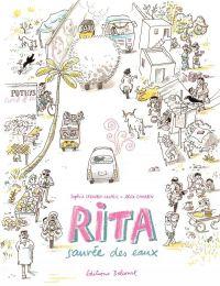 Rita sauvée des eaux, bd chez Delcourt de Legoubin Copeil, Charbin