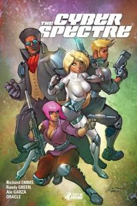 The Cyber Sprectre T1 : Terrain hanté (0), comics chez Alayone Comics de Emms, Garza, Green, Oracle