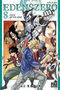 Edens zero T8, manga chez Pika de Mashima