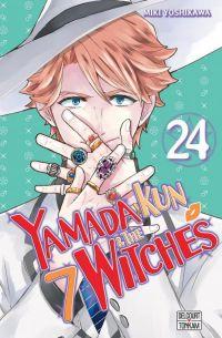 Yamada kun & the 7 witches T24, manga chez Delcourt Tonkam de Yoshikawa