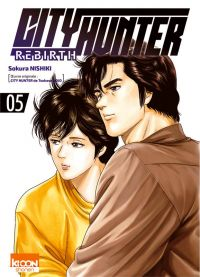 City Hunter rebirth T5, manga chez Ki-oon de Nishiki, Hôjô