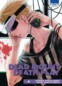 Dead mount death play T4, manga chez Ki-oon de Narita, Fujimoto