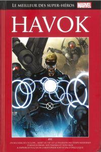 Marvel Comics : le meilleur des super-héros T104 : Havok (0), comics chez Hachette de Yost, Drake, Thomas, Grainge, Cifuentes, Diaz, Colletta, Roth, Heck, Reber, Trevino, Sotomayor, Suayan