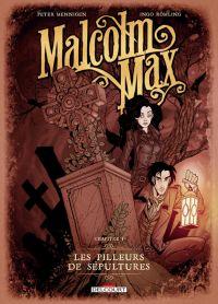 Malcolm Max T1 : Les pilleurs de sépultures (0), bd chez Delcourt de Mennigen, Romling