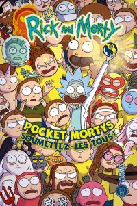 Rick and Morty : Pocket Mortys : Soumettez-les tous ! (0), comics chez Hi Comics de Howard, Farina, Ellerby