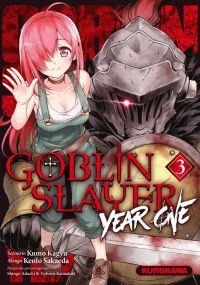 Goblin slayer - Year one T3, manga chez Kurokawa de Kagyu, Sakaeda