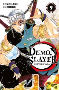 Demon slayer T9, manga chez Panini Comics de Gotouge