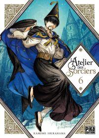L'atelier des sorciers T6, manga chez Pika de Shirahama